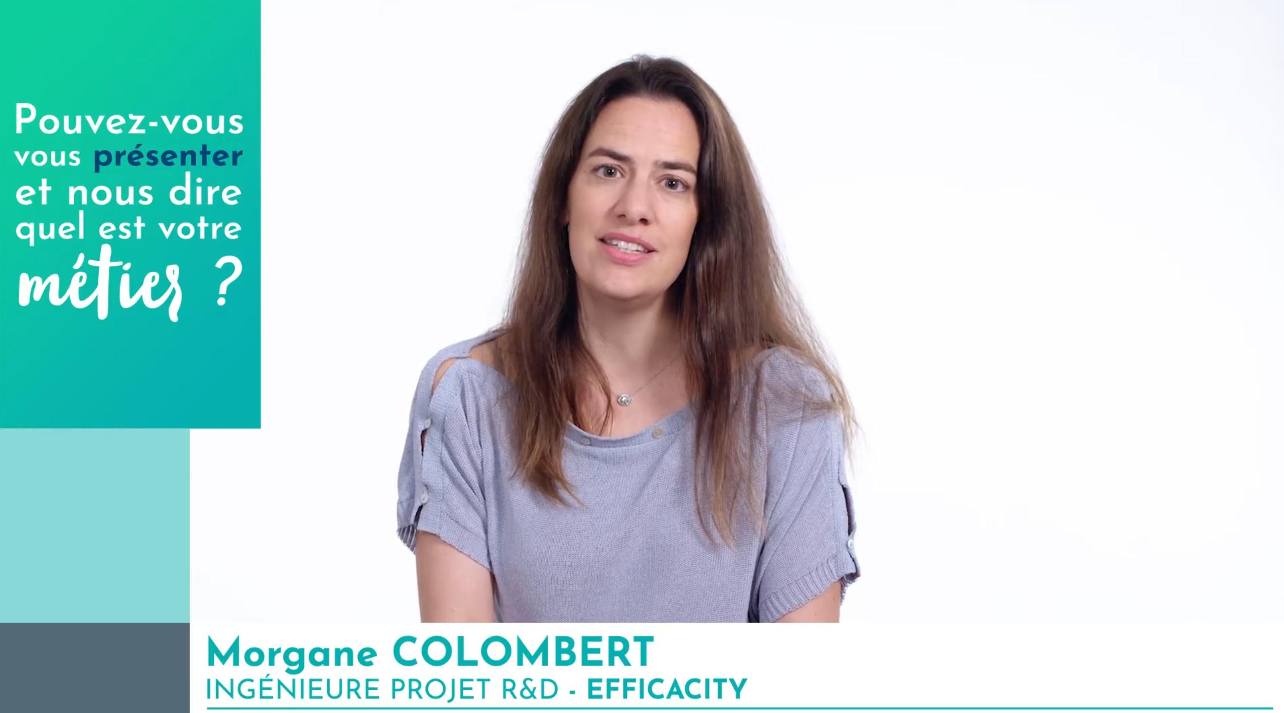 Morgane Colombert, ingénieure projet R&D, au service de la transition énergétique des villes